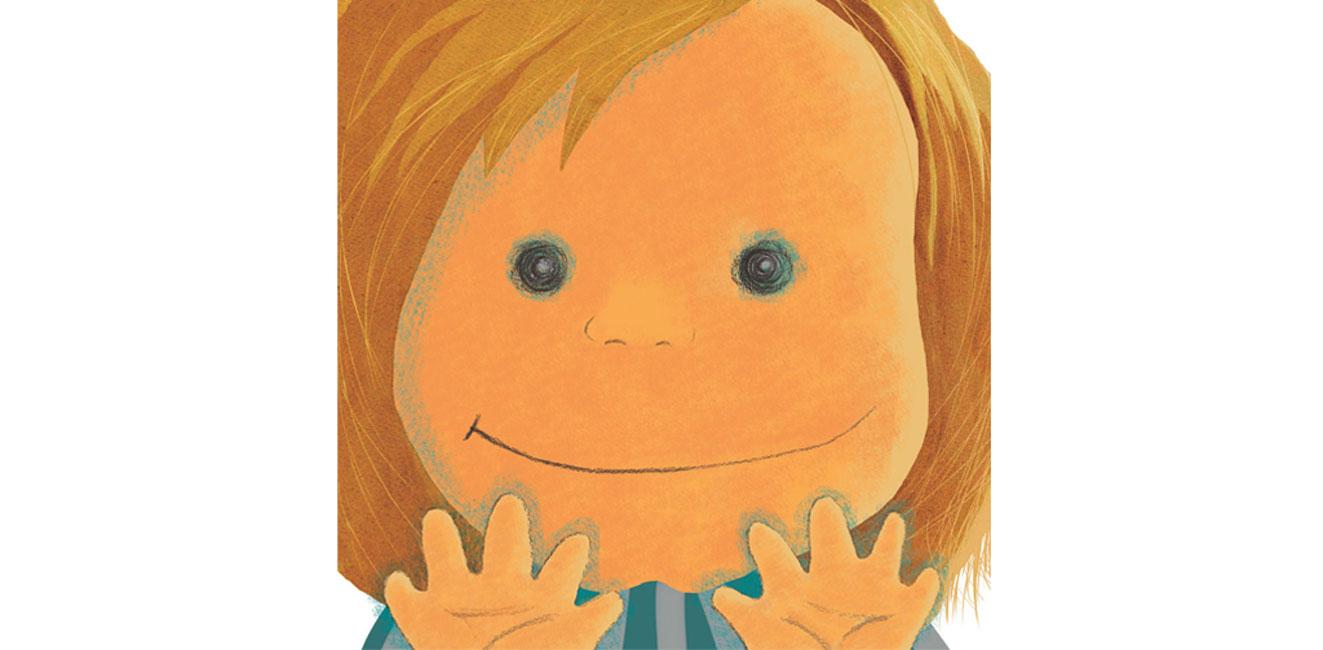 ilustracja - W pogoni za chłopcem, co ma pięć dłoni